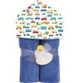 Baby Jar Baby Jar - Hooded Towel Traffic Jam