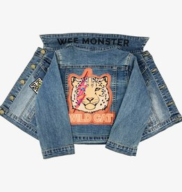 Wee Monster Wee Monster - Wild Cat Denim Jacket