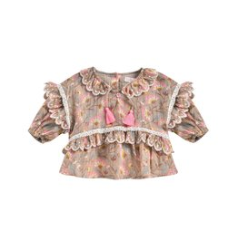 Louise Misha Louise Misha - Gaita Blouse/Folk Flowers