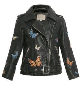 Hannah B/B Sara Hannah Banana - Butterfly Biker Jacket