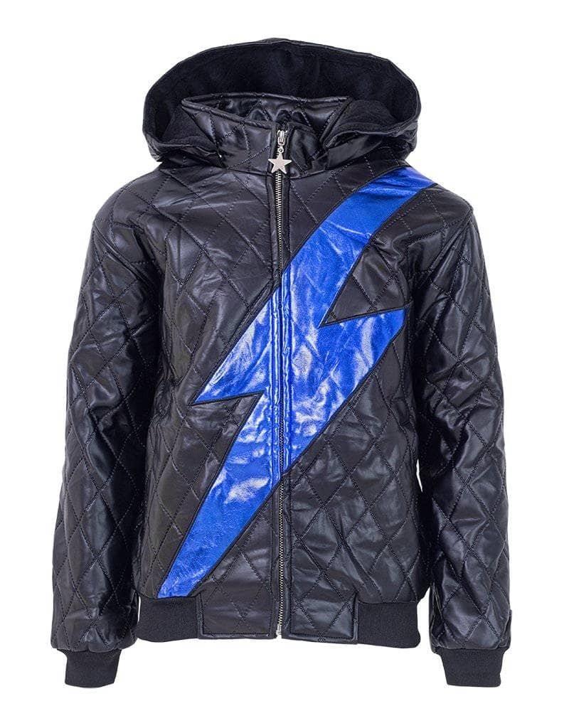 Lola and the Boys Lola and the Boys - Lightning Strike Leather Jacket