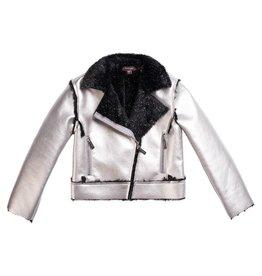 Imoga Imoga - Esmae Moto Jacket - Silver