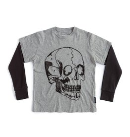 NuNuNu NuNuNu - Grey Skull T-Shirt