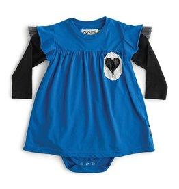 NuNuNu NuNuNu - Blue Bodysuit Dress