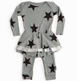 NuNuNu NuNuNu - Grey Star Skirted Overall