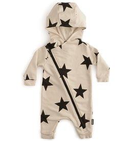 NuNuNu NuNuNu - Natural Zip Star Hooded Overall