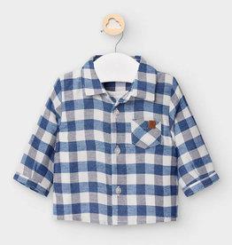 Mayoral Mayoral - Plaid Shirt w/ TShirt