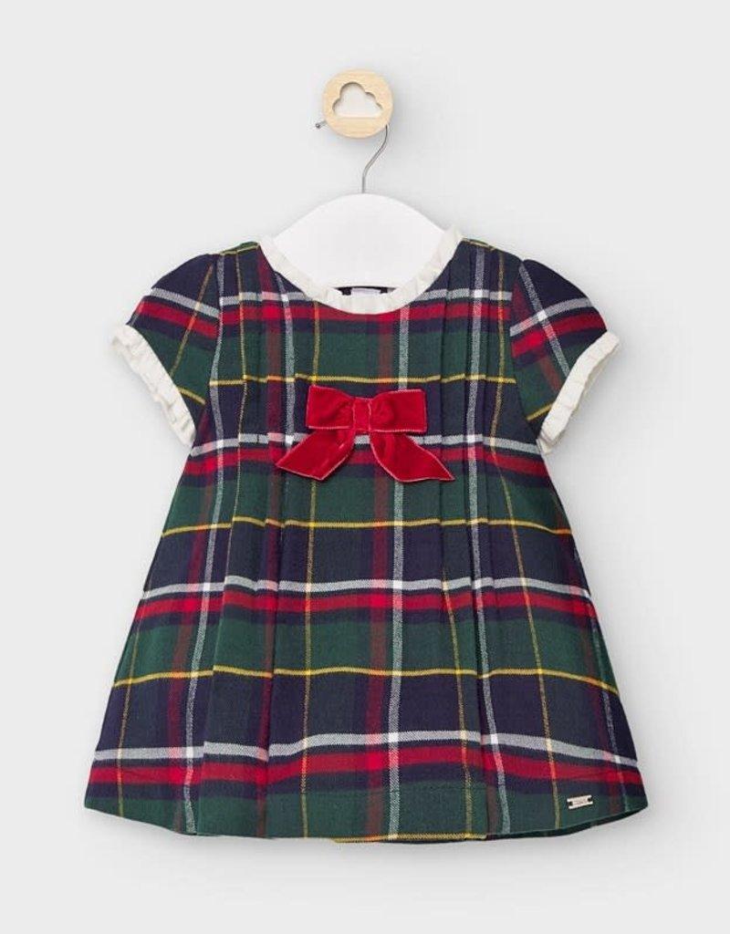 Mayoral Mayoral - Plaid Dress