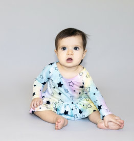 Pink Peony - Tutu Onesie - Unicorn/Star