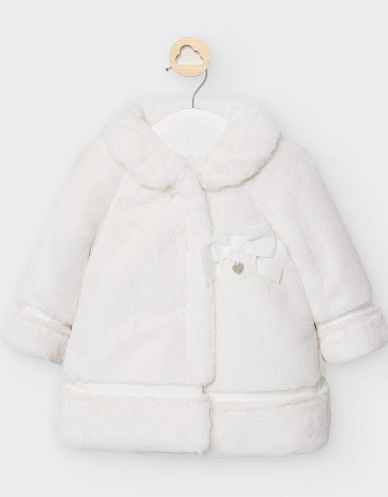 Mayoral Mayoral - Natural Fur Coat
