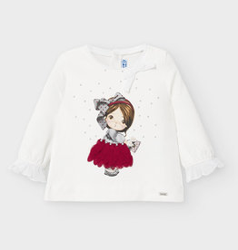 Mayoral Mayoral - Doll Face L/S Top