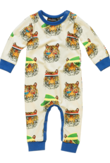 Rock Your Baby Rock Your Baby - Retro Tiger Playsuit