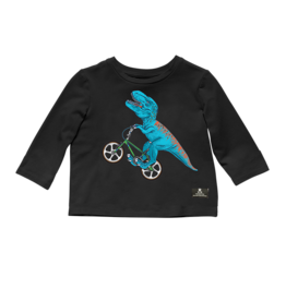 Rock Your Baby Rock Your Baby - Dino Bike T-Shirt
