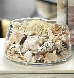 Manarola Glass Bowl- Clear