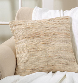 Jute Chindi Pillow