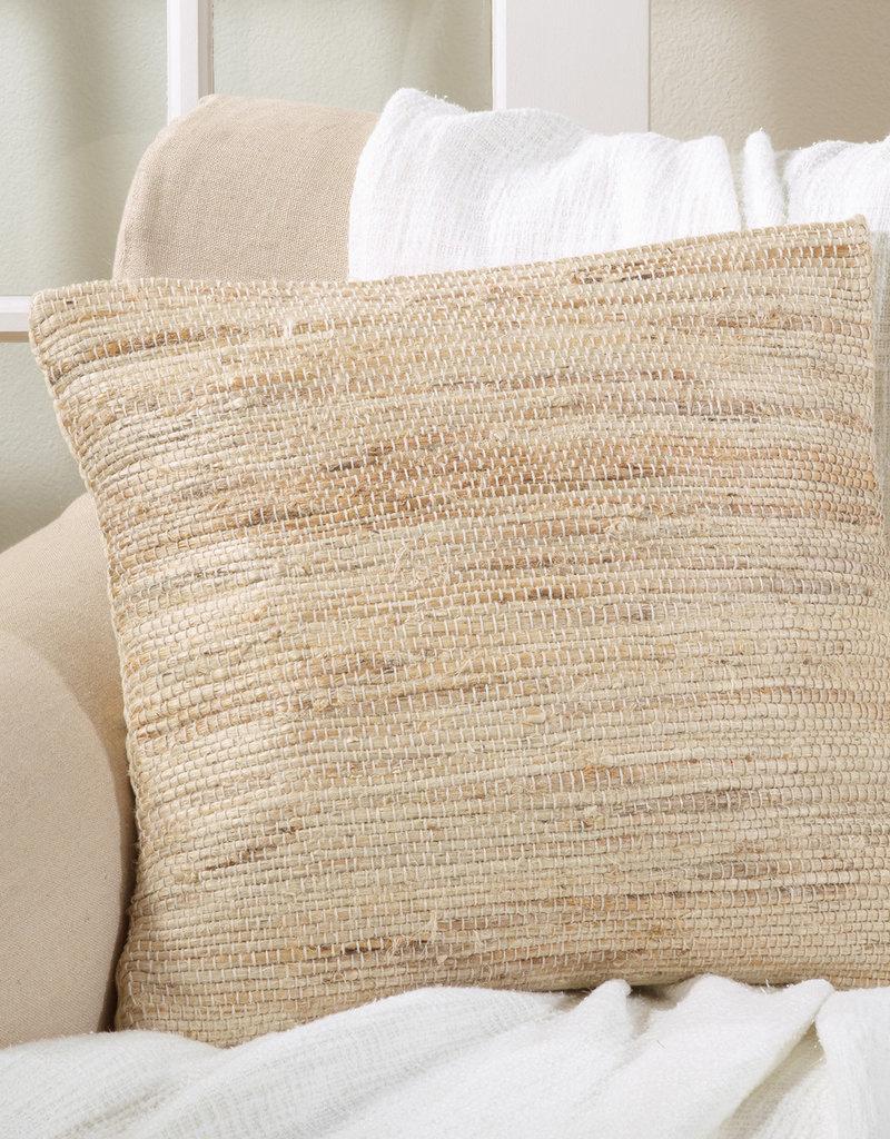 Jute Chindi Pillow