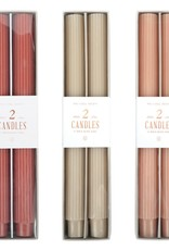 Fancy Taper Candles Clay