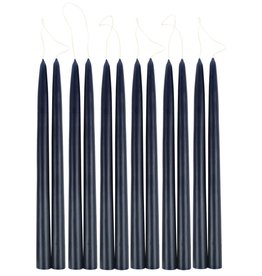"Taper Candle 12"" Midnight 1 pair"
