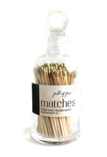 FULL OF FIRE MATCHES- GOLD
