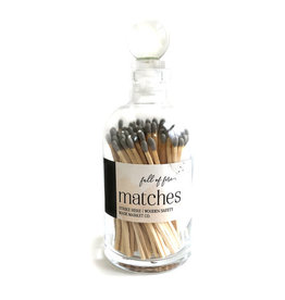 FULL OF FIRE MATCHES- GRAY