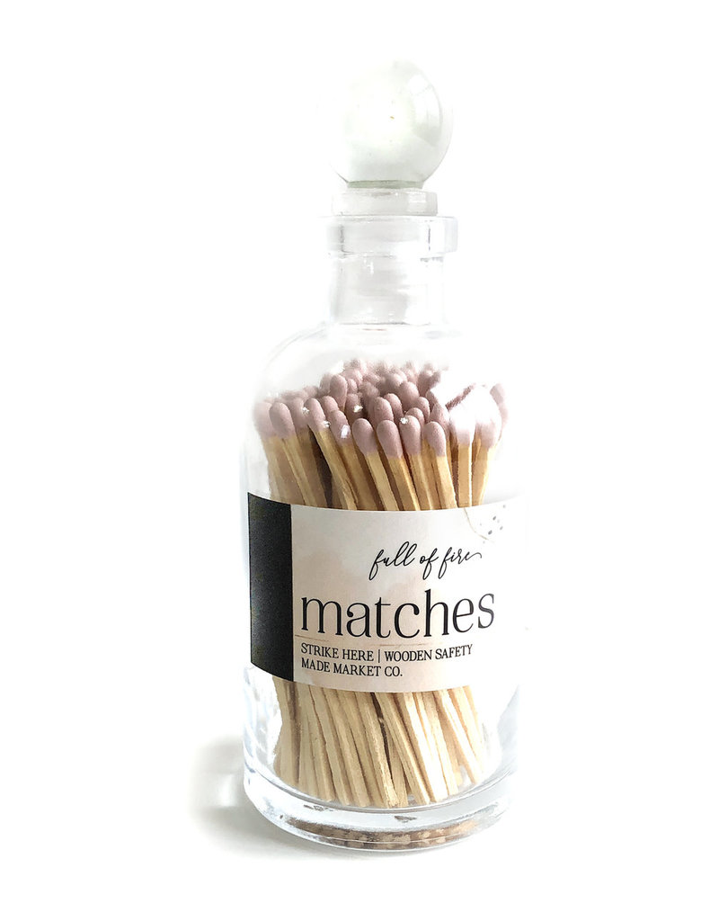 FULL OF FIRE MATCHES - LIGHT PINK