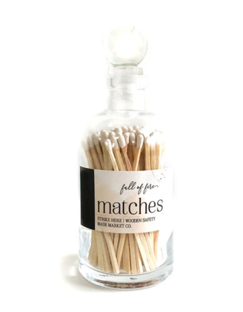 FULL OF FIRE MATCHES - WHITE