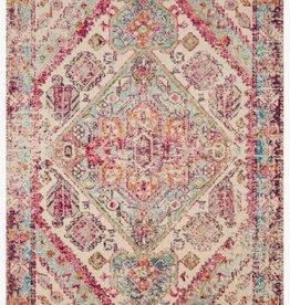 Nadia Aqua Pink Carpet