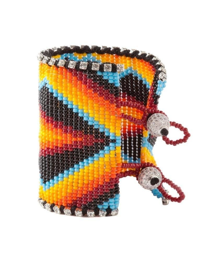 Gypsy black Flower Bracelet