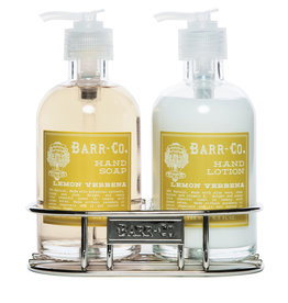 Lotion/Soap Caddy Duo - Lemon Verbena