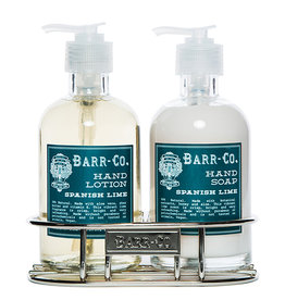 Lotion/Soap Caddy Duo - Spanish Lime