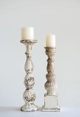 Mango Wood Candle Holder