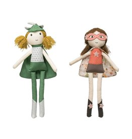 Cotton Superhero Girl Doll, 2 Styles