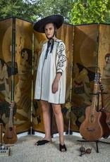 OAXACA DRESS OFF WHITE