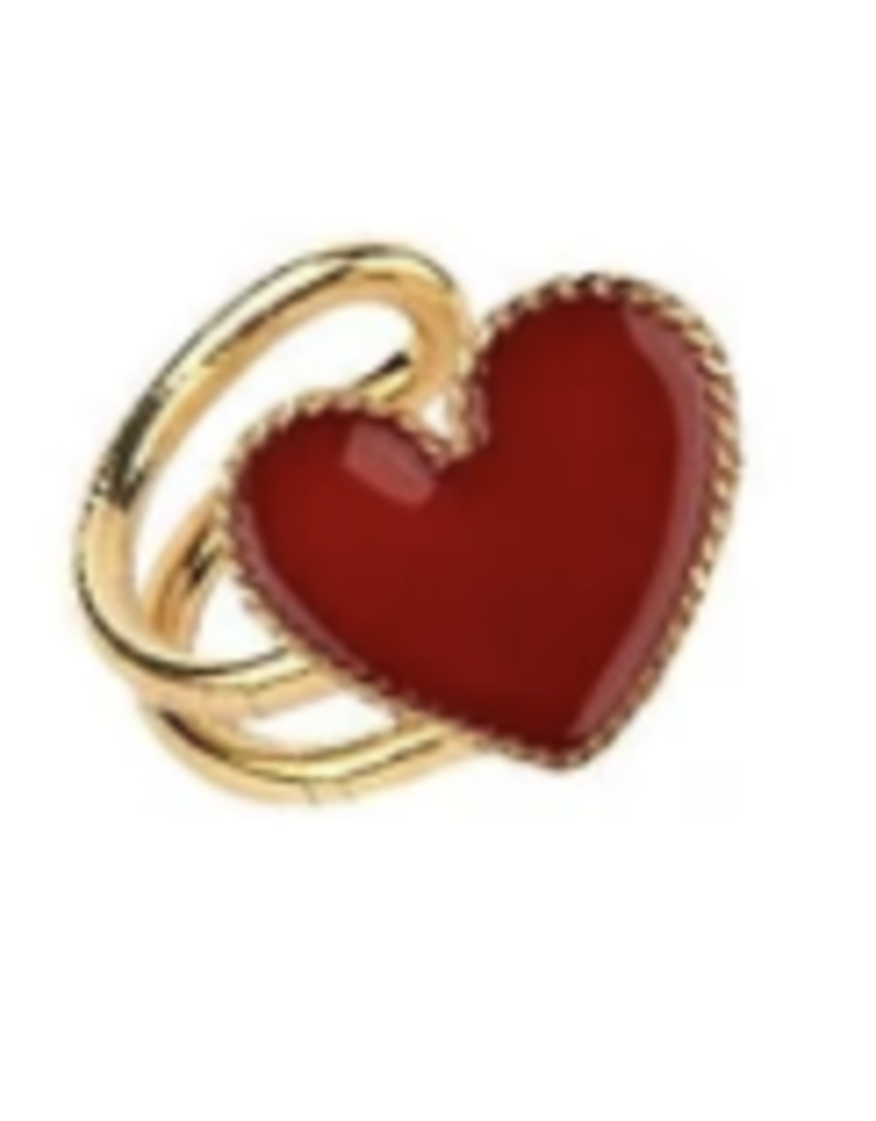 Red Heart Earcuff DS