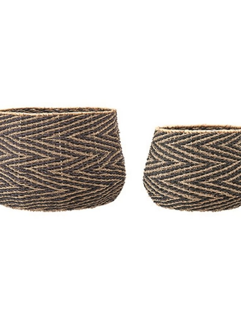 Woven Seagrass Baskets Large