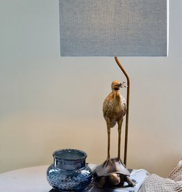 Stork & Turtle Table Lamp