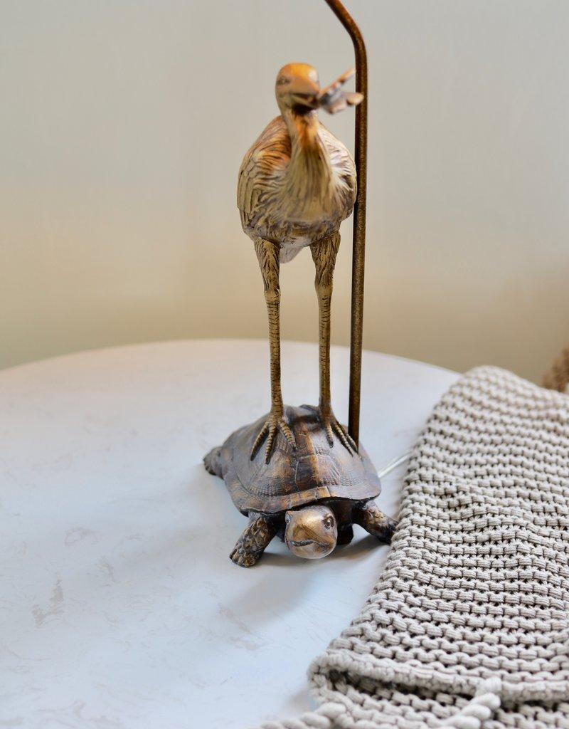 Stork & Turtle Table Lamp