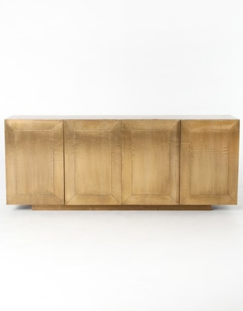 Freda Sideboard Aged Brass