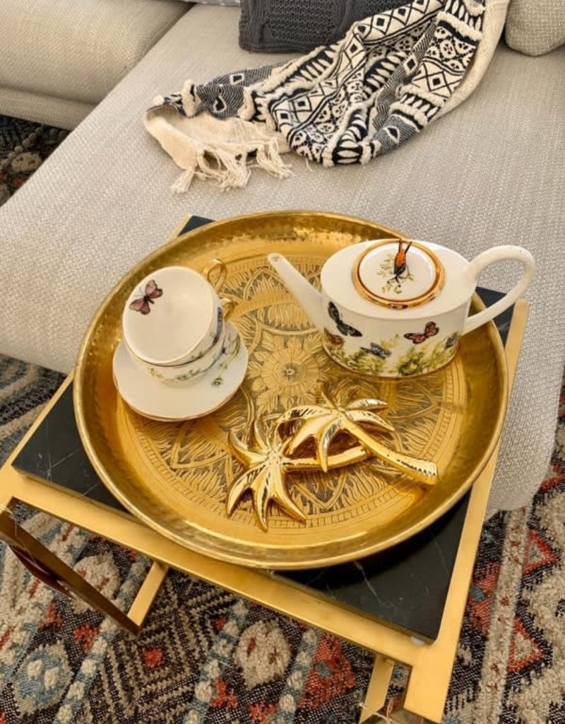 Emboss Tray Gold Large