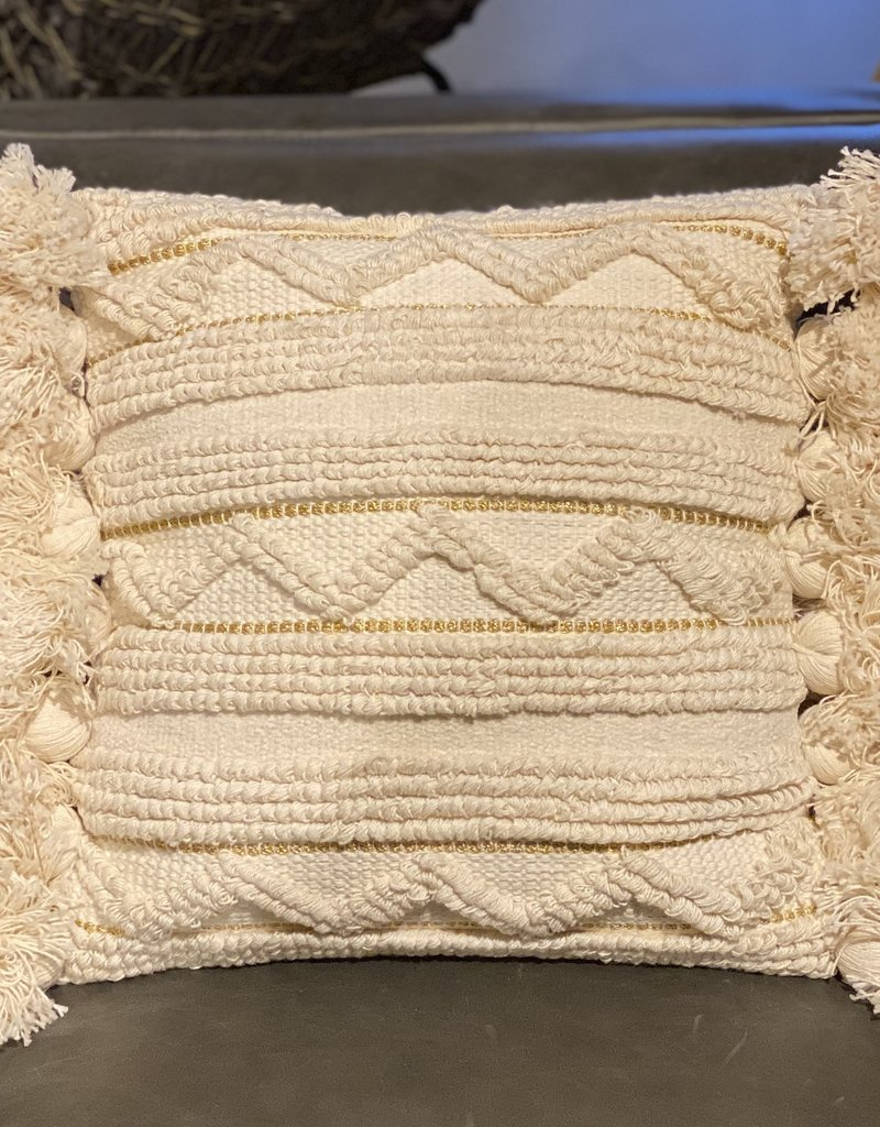 Cotton Looped Pillow