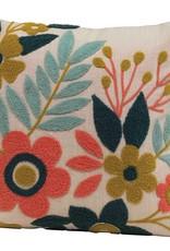 Cotton Floral Pillow