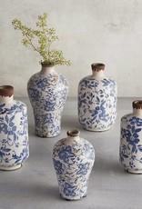 Fire Vintage Blue Vase