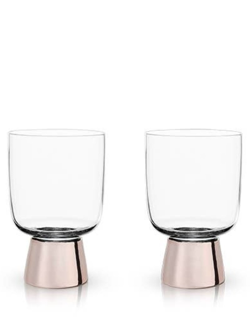 Fire Copper Footed Tumblers