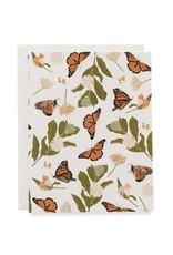 Monarchs + Milkweeds Card