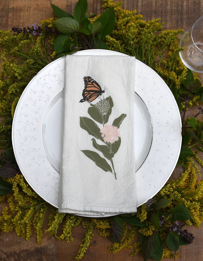 Fire Swallowtails + Monarchs Napkins, Set of 4