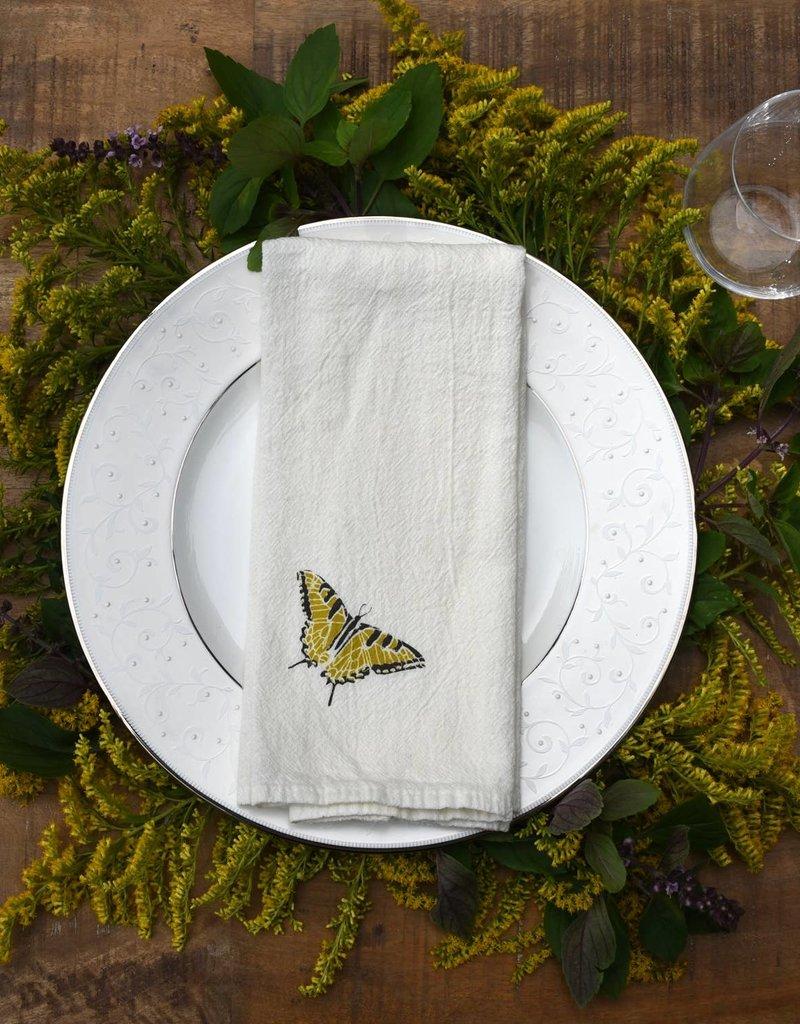 Swallowtails + Monarchs Napkins, Set of 4
