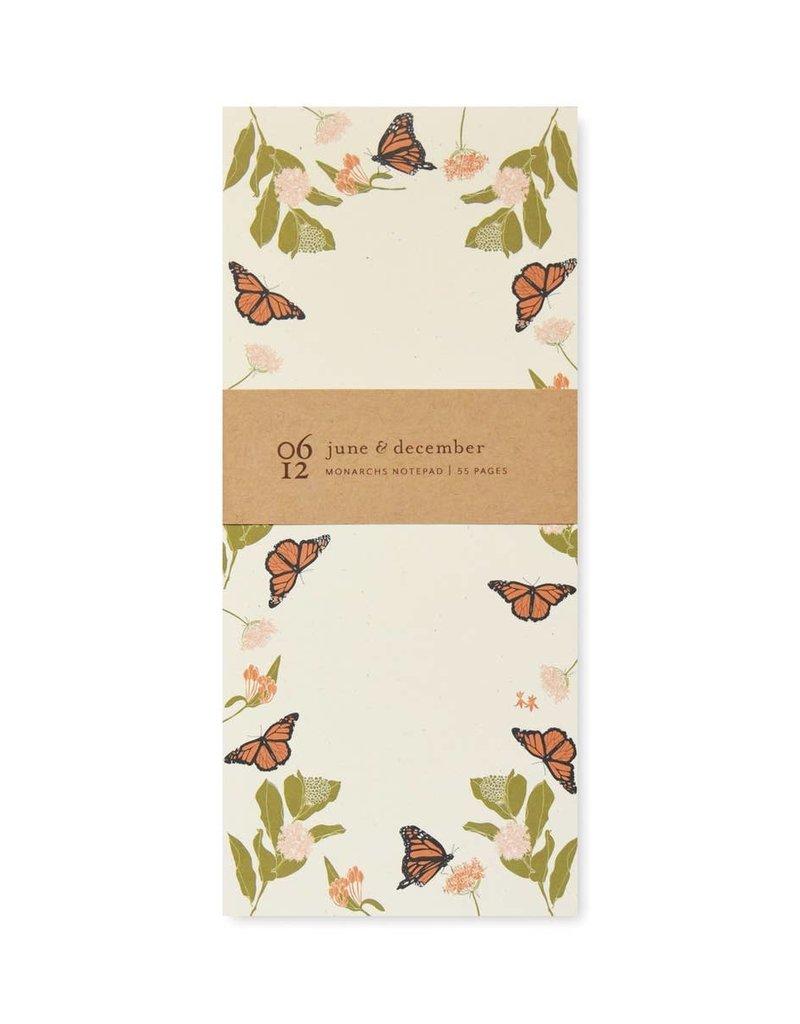 Fire Monarchs Notepad