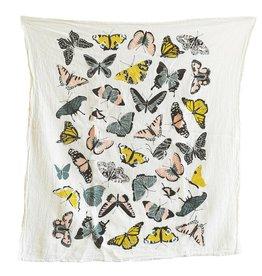 Fire Butterfly House Towel