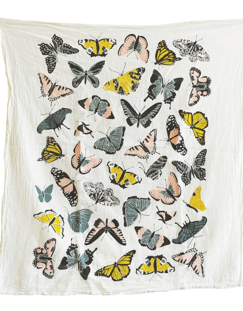 Fire Butterfly House Towel