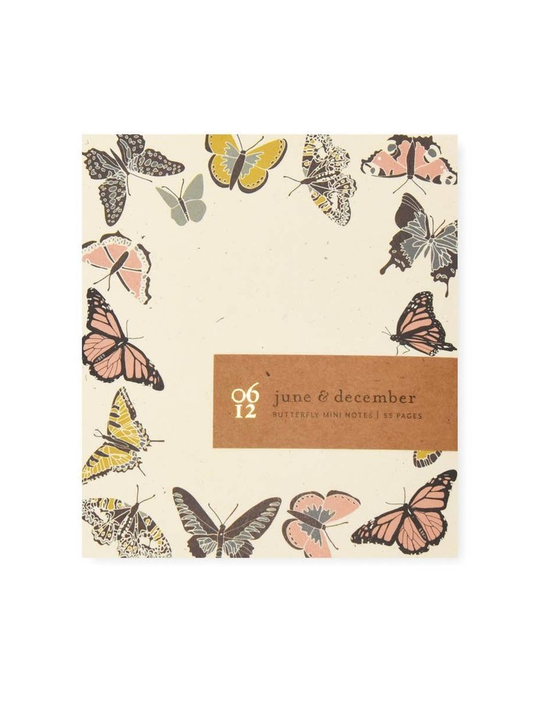 Fire Butterfly Mini Notes